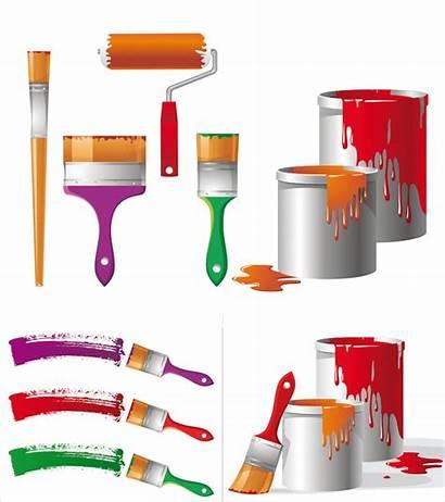 Paint Tools Vector Painting Clipart Buckets Bucket
