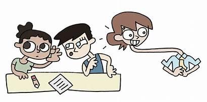 Teacher Teachers Students April Eavesdropping Story Fool