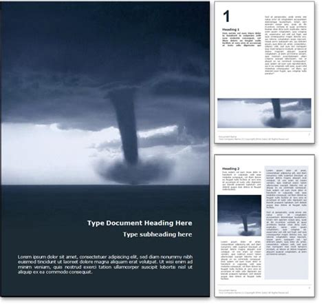 word powerpoint online royalty free tornado microsoft word template in blue