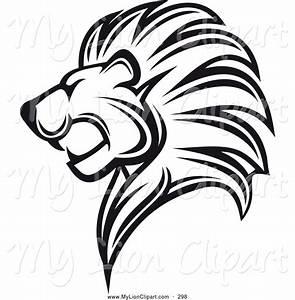 Roaring Lion Clipart Black And White | Clipart Panda ...