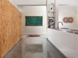 Bodenbelag Küche Kork : diele mit wandpaneele aus kork und epoxidharzboden osb pinterest ~ Bigdaddyawards.com Haus und Dekorationen