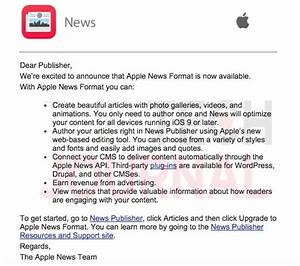Apple News Format Released  Guide To Setup In Wordpress