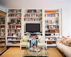 decorating bookshelves in living room built in bookshelves eclectic living room lonny magazine