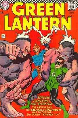 green lantern alter ego the green lantern databank