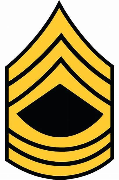 Rank Army Military Clipart Csm Ranks Symbol
