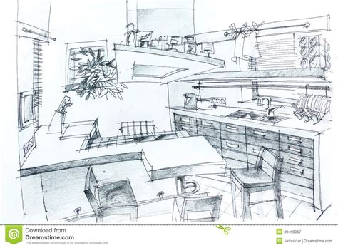 Stunning Images Home Sketch Plans by House Sketch With Pencil Stock Illustration Image 39498067