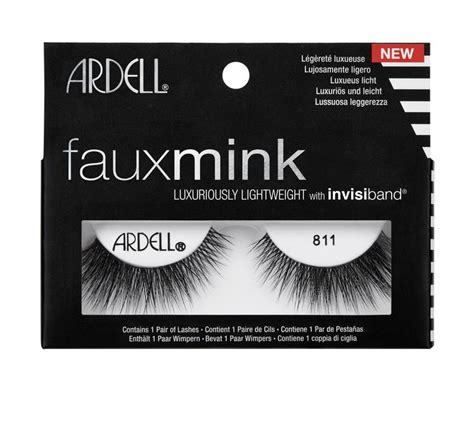 Ardell Faux Mink Black Lashes 810 - Beauty Goddess