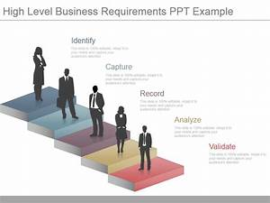 Learn to create 3 d stairs in powerpoint powerpoint for High level business requirements document template