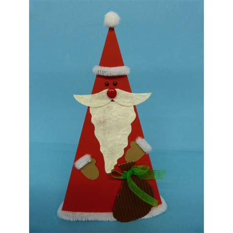 nikolaus falten eine schoene bastelanleitung zu weihnachten