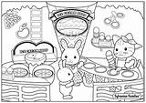 Coloring Calico Pages Cream Ice Critters Coloriage Alice Wonderland Sylvanian Families Cat Flowers Joli Printable Plage Pour Colouring Autumn Mid sketch template