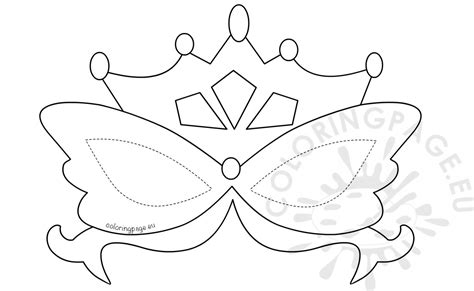 carnival masks template kids printable mardi gras mask template coloring page