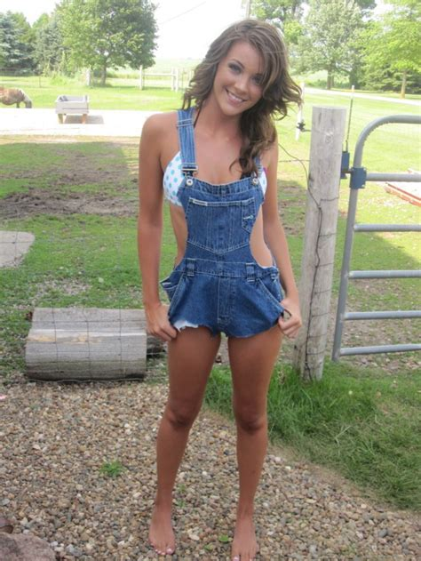 Country Girl In Overalls