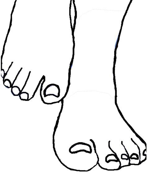 feet template   clip art  clip art