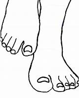 Feet Template Clipart Foot Coloring Pair Clip Cliparts Drawing Line Base Pages Transparent Male Giant Pony Sketch Templates Clipartbest Deviantart sketch template