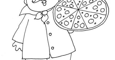 Kleurplaat Keukenschort by Chef With Pizza Png 1177 215 1600 Kleurplaten