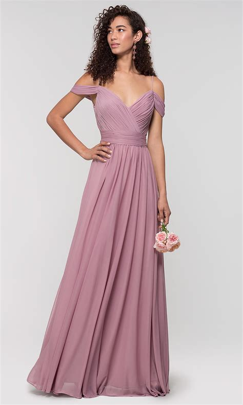 Bridesmaid Dresses by Cold Shoulder Kleinfeld Bridesmaid Dress