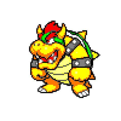 Mario Bowser Pixel Art