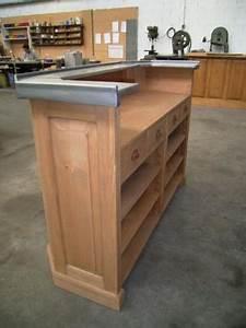 au bon pin votre meuble de cuisine comptoir ou bar en bois With fabriquer un comptoir de cuisine en bois