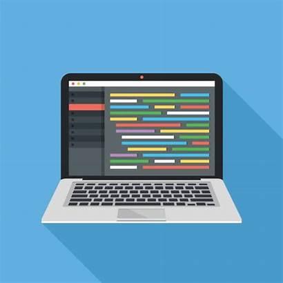 Coding Code Programming Editor Web Vector Source