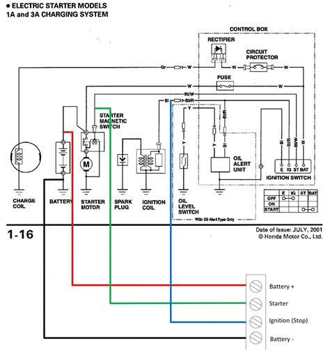 Wiring Diagram For Honda Generator by Honda Ex5500 Generator Wiring Diagram Wiring Diagram