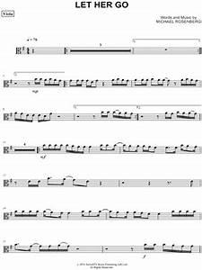 """Passenger """"Let Her Go - Viola"""" Sheet Music - Download & Print"""