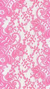 Bright Pink Lace iPhone Wallpaper | Color - Glitter ...