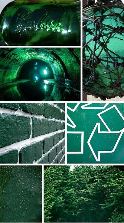 Hues Palette Emerald Found Patterns
