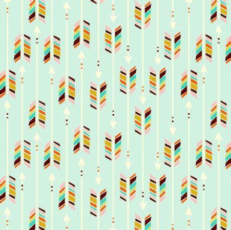 Arrow Print Crib Sheet