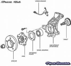 ford rear suspension diagram ford free engine image for With wheel hub diagram