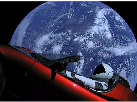22+ Tesla Car In Space Real Images