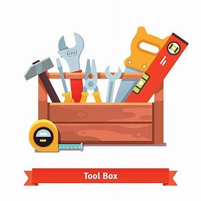 Toolbox Tool Box Vector Wooden Clip Illustration