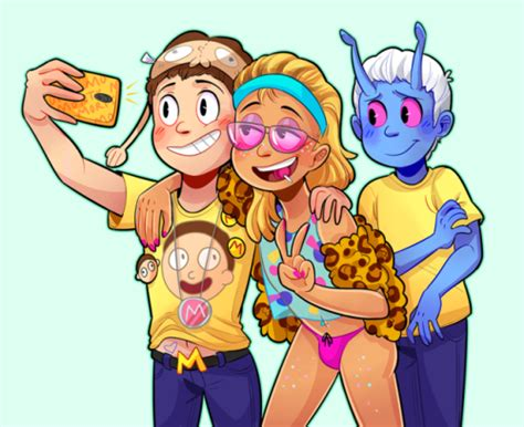 rick and morty fans super morty fan morty