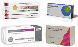 Лекарства для фиброз простаты
