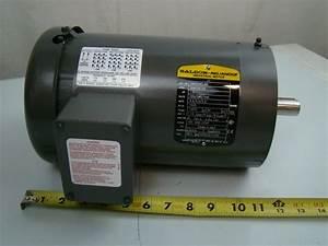 Baldor 1 5 Hp 1425 Rpm Electric Motor Vm3554t