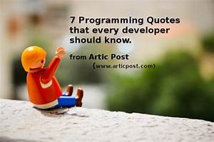 Programmers Quo... Clever Programming Quotes
