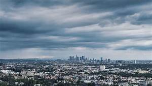 Cloudy Los Angeles Stock Footage Video - Shutterstock