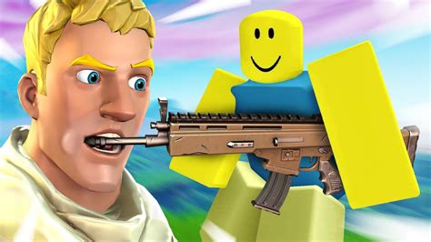 played  fortnite roblox ripoff youtube