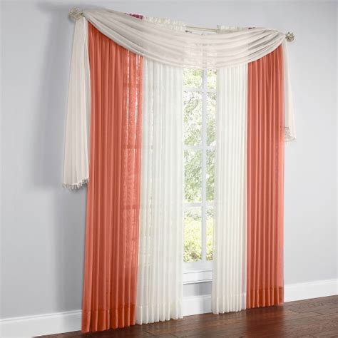 Kitchen Scarf Valance by 25 Best Ideas About Scarf Valance On Curtain