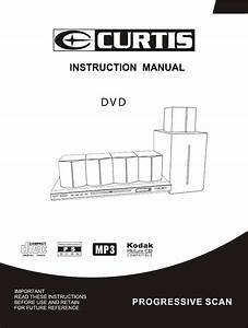 Curtis Home Theater System Dvd6091 User Guide