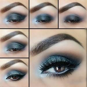 Smokey Eyes Blaue Augen : 1001 ideen f r tolles augen make up ~ Frokenaadalensverden.com Haus und Dekorationen