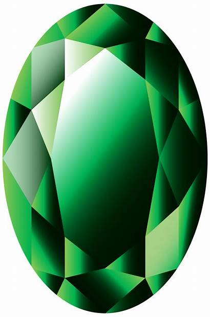 Emerald Clipart Oval Transparent Gems Clipground Clipartpng