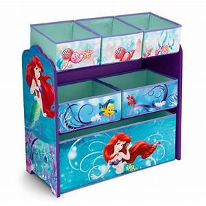 Disney, Little, Mermaid, Multi-bin, Toy, Organizer, -, Baby, -, Baby, Furniture