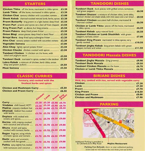 indian cuisine menu daily info oxford majliss indian restaurant menu