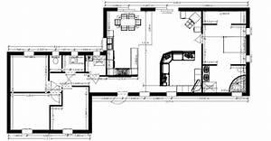 Maison Architecte Plain Pied : plan maison plain pied environ 135m 12 messages ~ Melissatoandfro.com Idées de Décoration