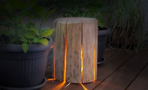 diy guide wooden lamp stihl blog