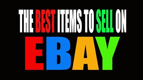 how to find the best selling items on ebay youtube