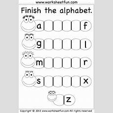 Missing Letters  Places To Visit  Alphabet Worksheets, Letter Worksheets, Preschool Worksheets