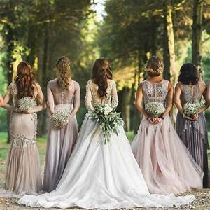 wedding trends to look forward to in 2017 With wedding dresses for bridesmaid
