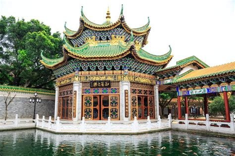 casa cinese casa cinese tradizionale in giardino cinese antico