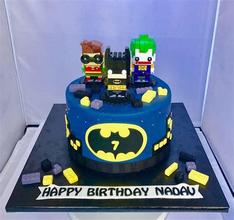batman lego birthday cake chefnessbakery